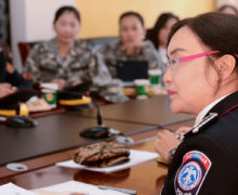 Women key to peace and security in Mongolia and globally