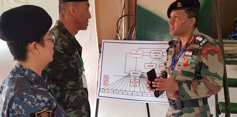 아세안 의사, 군 의료 역량 강화를 위해 데이터와 전문 지식 공유