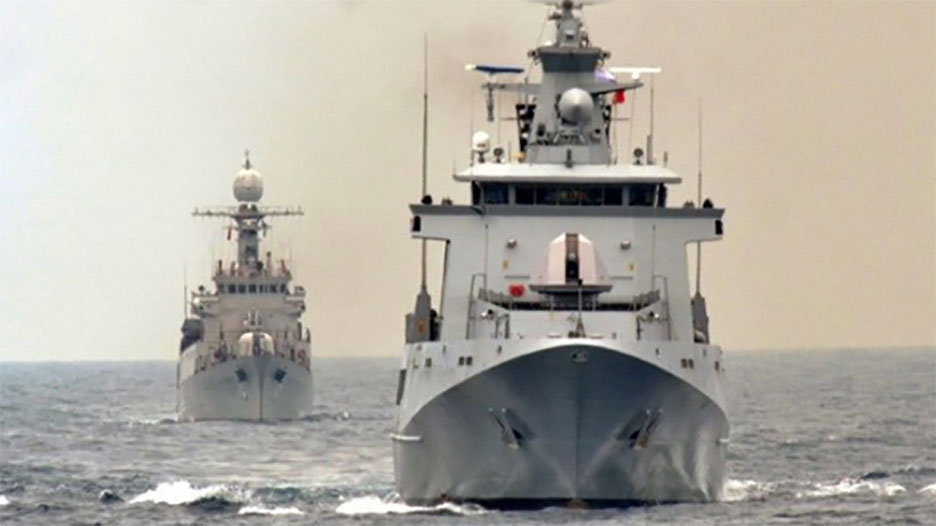Hounded by the PRC, naval forces of Philippines, Vietnam work together