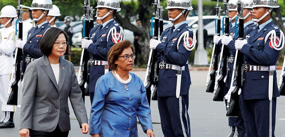 台湾との外交関係を確認するマーシャル諸島