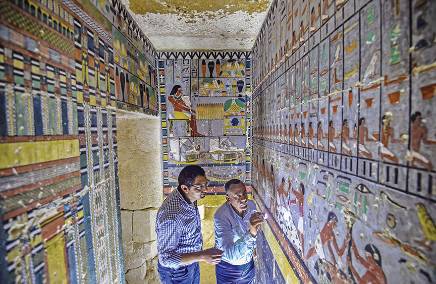 Mesir: A Colorful Dynasty