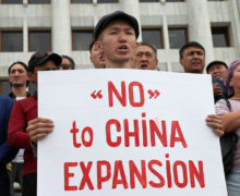 중앙 아시아 국가, 중국의 인프라 투자 유감