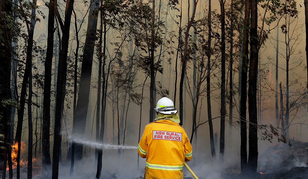 U.S., allies and partners help Australia fight fire disaster