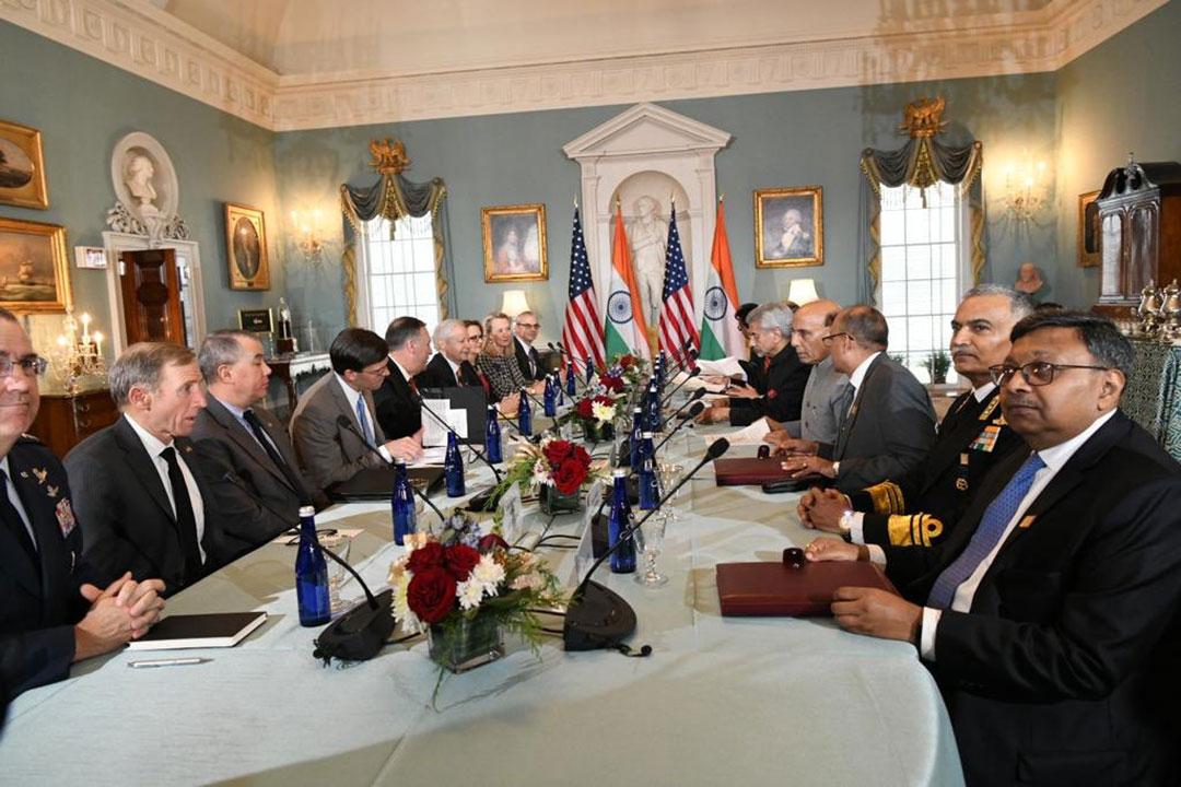 Dialog pertahanan memajukan hubungan India-A.S.