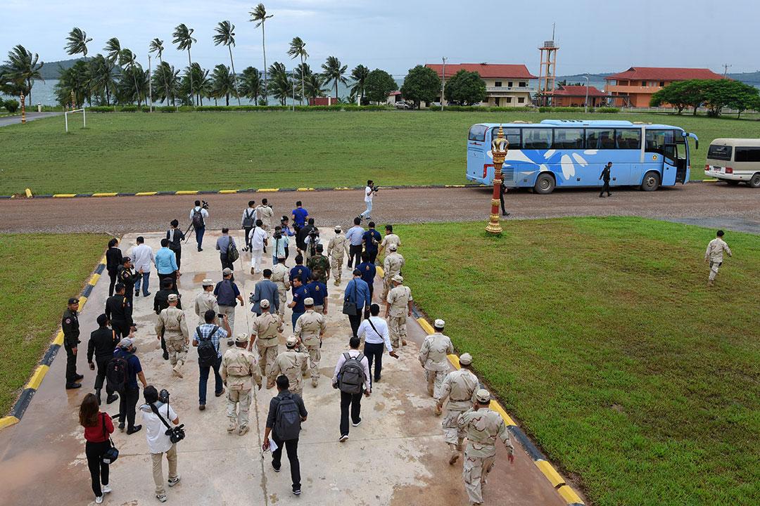 軍事拠点を建設する中国:カンボジア政府は疑惑を否定