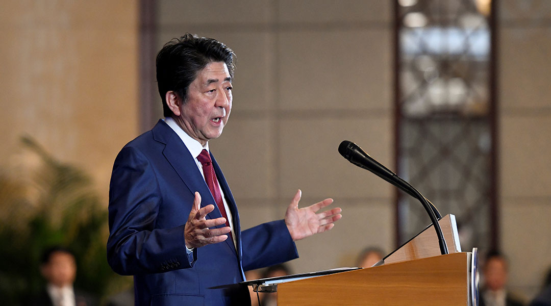 Abe to deploy Japanese forces to Middle East