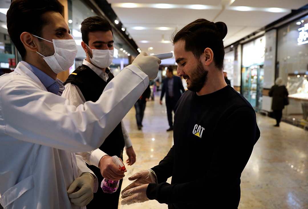 Iran points to China as source of its coronavirus woes