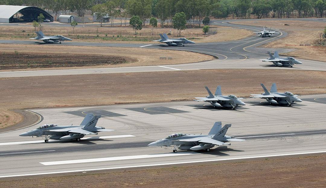 澳大利亚通过空军基地升级改造加强澳美双边关系