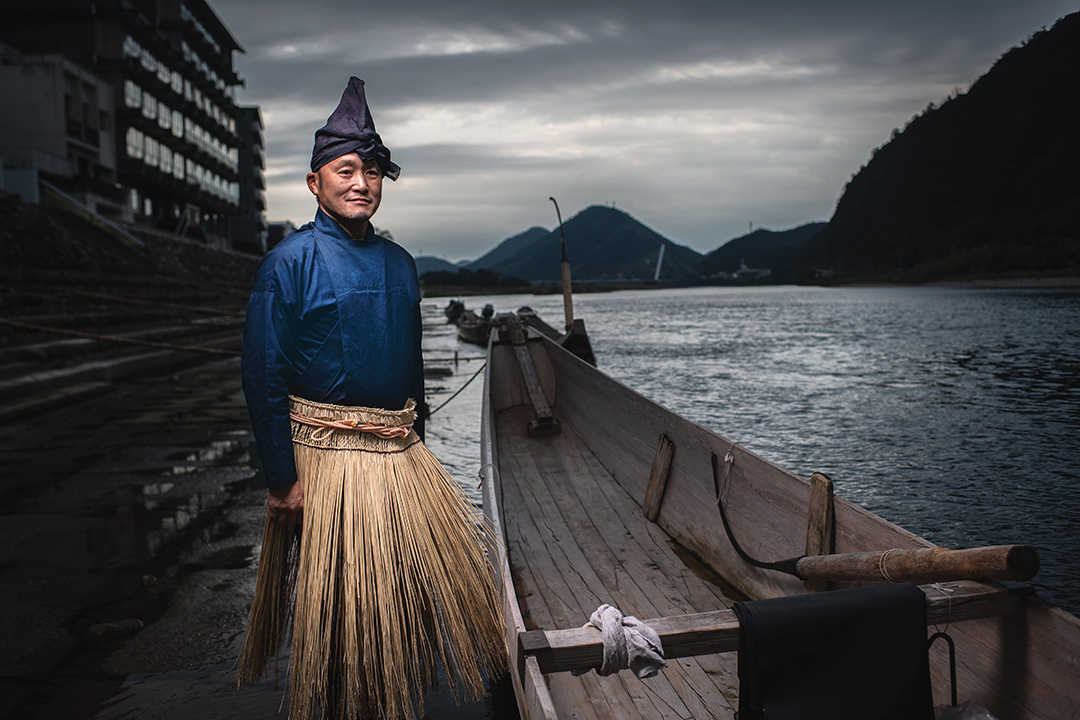 อุโช แห่งญี่ปุ่น สืบสาน ศิลปะโบราณ  ของการจับปลา ด้วยนกกาน้ำ