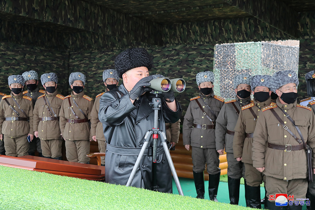 North Korea tests a series of projectiles amid coronavirus threat