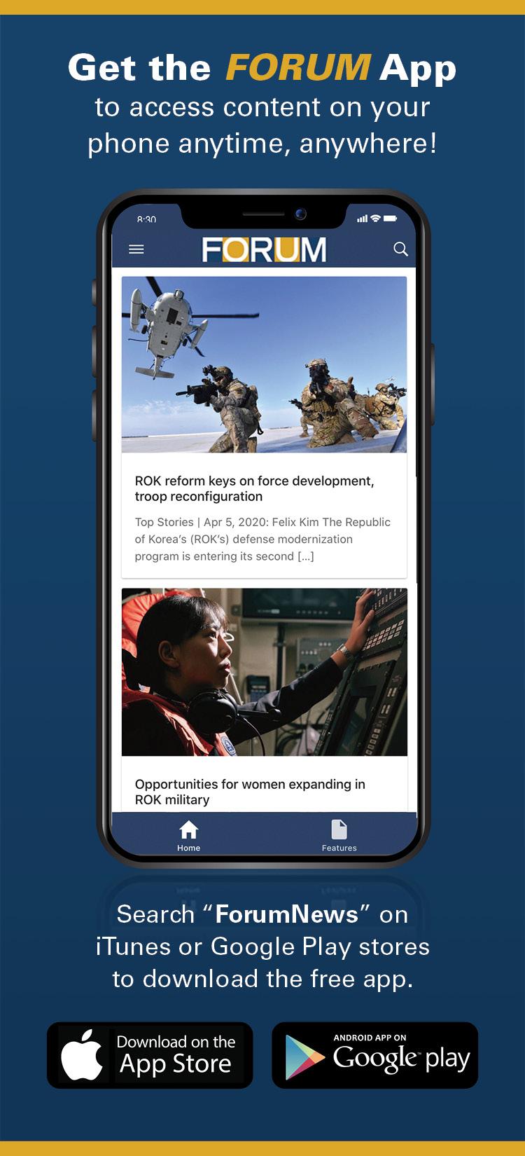 Forum App Ad