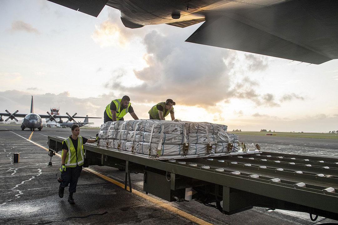 Fiji, Vanuatu continue receiving Cyclone Harold relief from Pacific neighbors