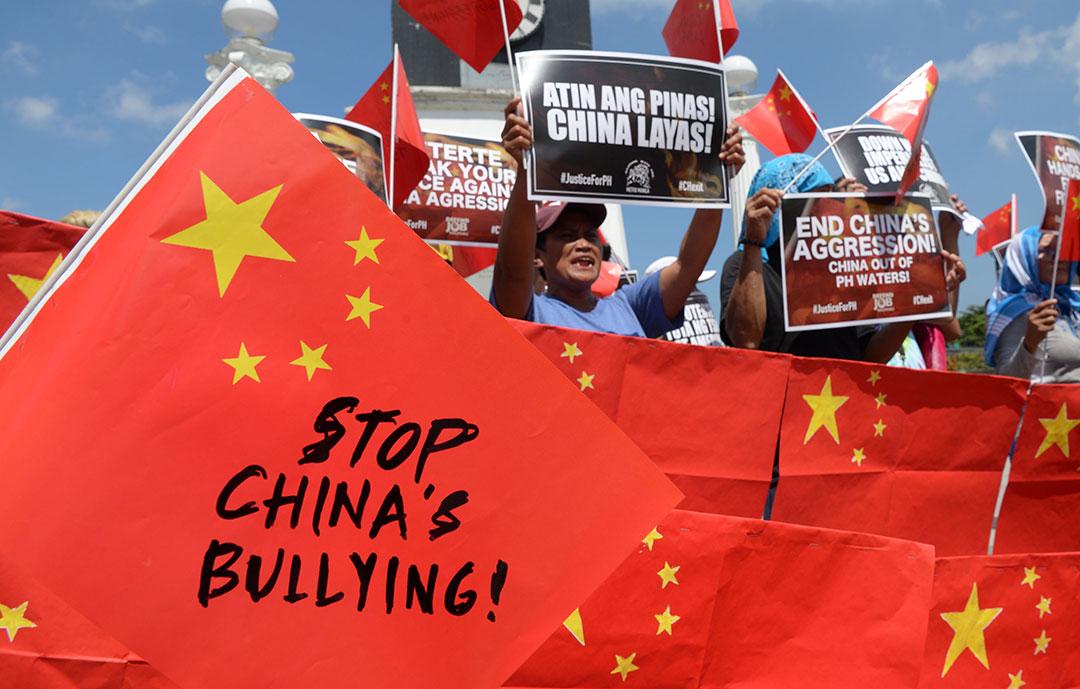 越南、菲律宾渔民抗议中国的南海禁渔令