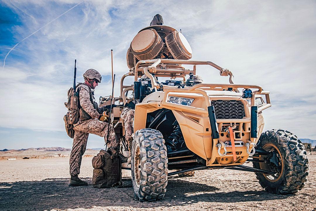 미래 전투 공간 구상