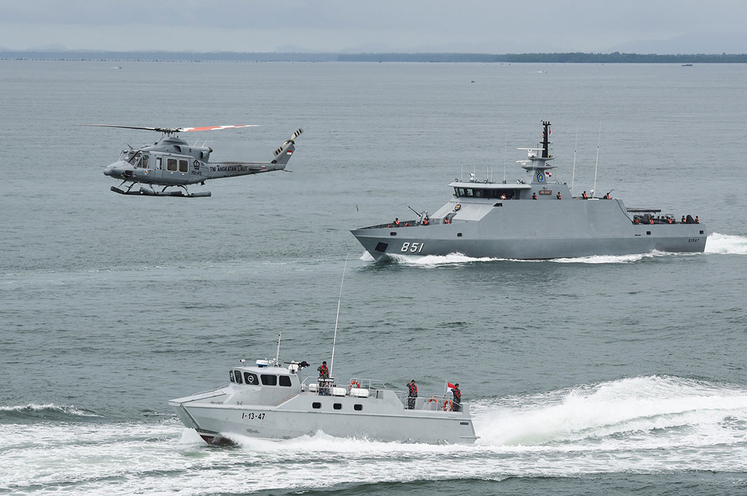 Regional partners confront increase in maritime crime