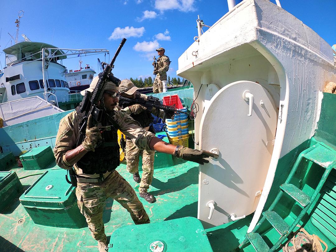 몰디브군, 미국군과 파트너십 강화로 위기 대비