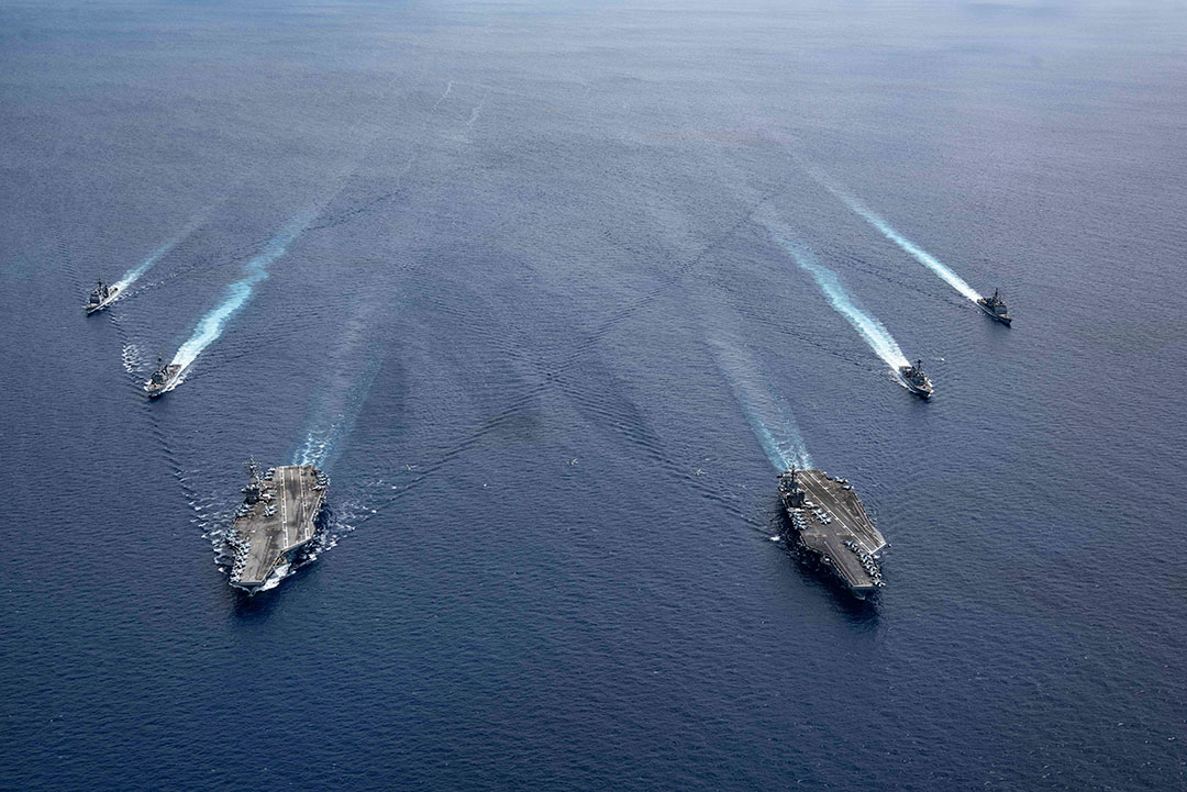 U.S. joint exercises promote a Free and Open Indo-Pacific