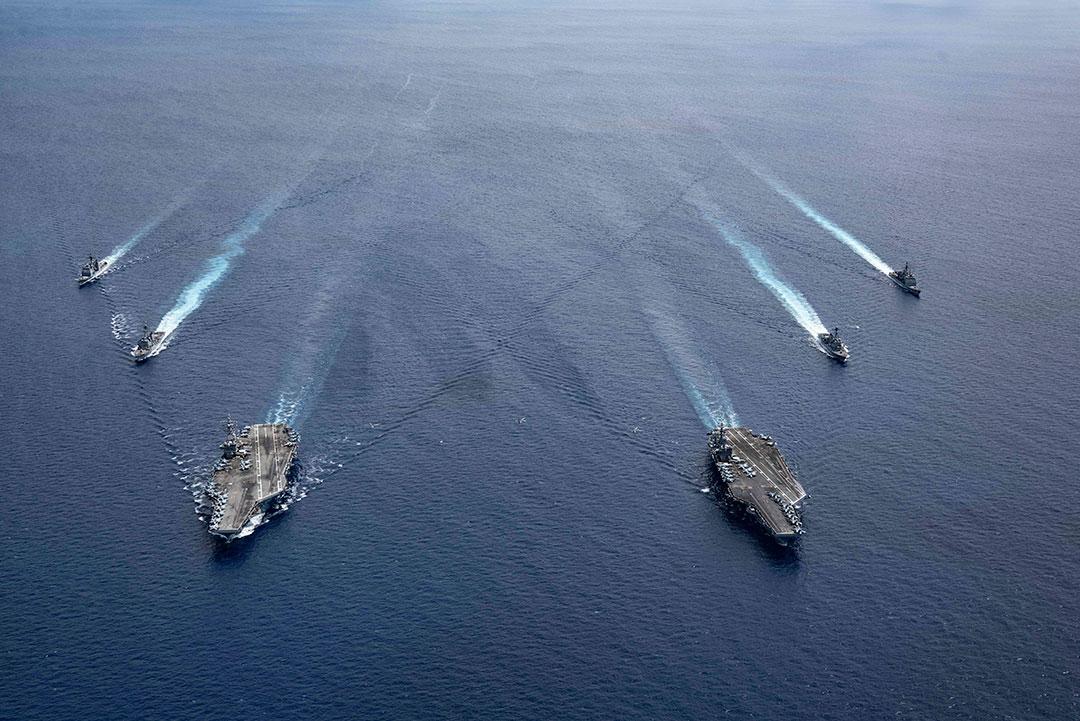 Latihan bersama A.S. mempromosikan Indo-Pasifik yang Bebas dan Terbuka