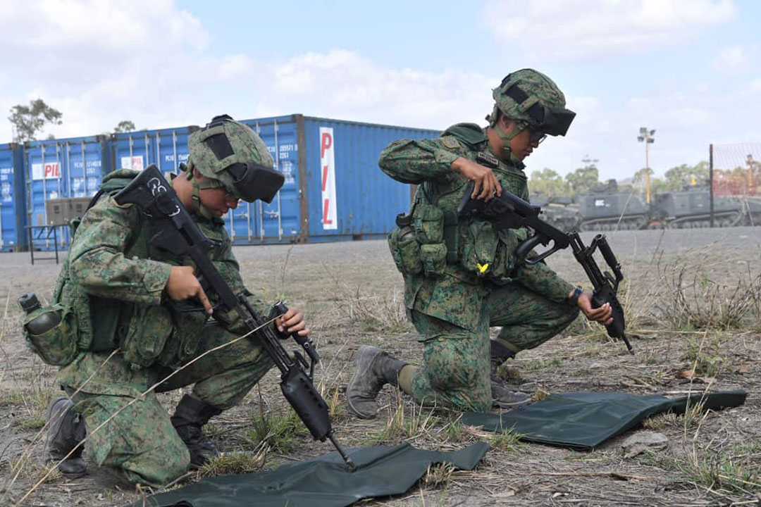 Singapore's military training efforts produce a jobs windfall for Australia