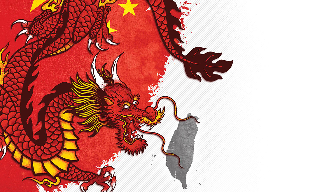 การตอบโต้ ปฏิบัติการแผ่ขยายอิทธิพล ของจีน