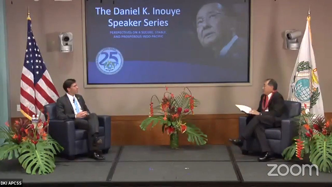 Defense secretary underscores PRC threat, highlights U.S. commitment during Indo-Pacific center's anniversary speech