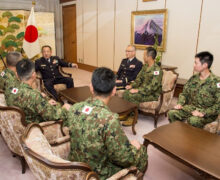 Japan's military puts priority on peacekeeping operations