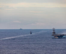U.S. holds naval exercises with Indo-Pacific allies amid PRC tension