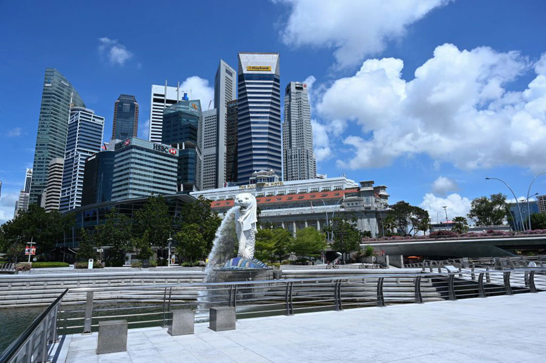 Hong Kong crackdown drives businesses to Singapore
