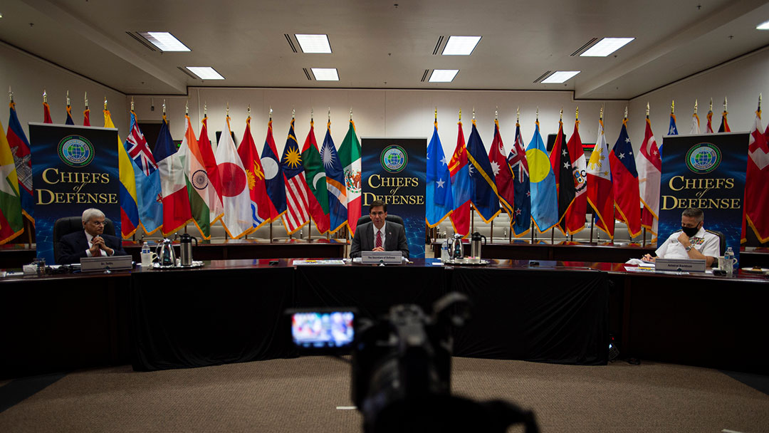 Indo-Pacific military leaders address regional security challenges