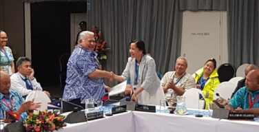 태평양 섬 파트너의 어업 보호 노력