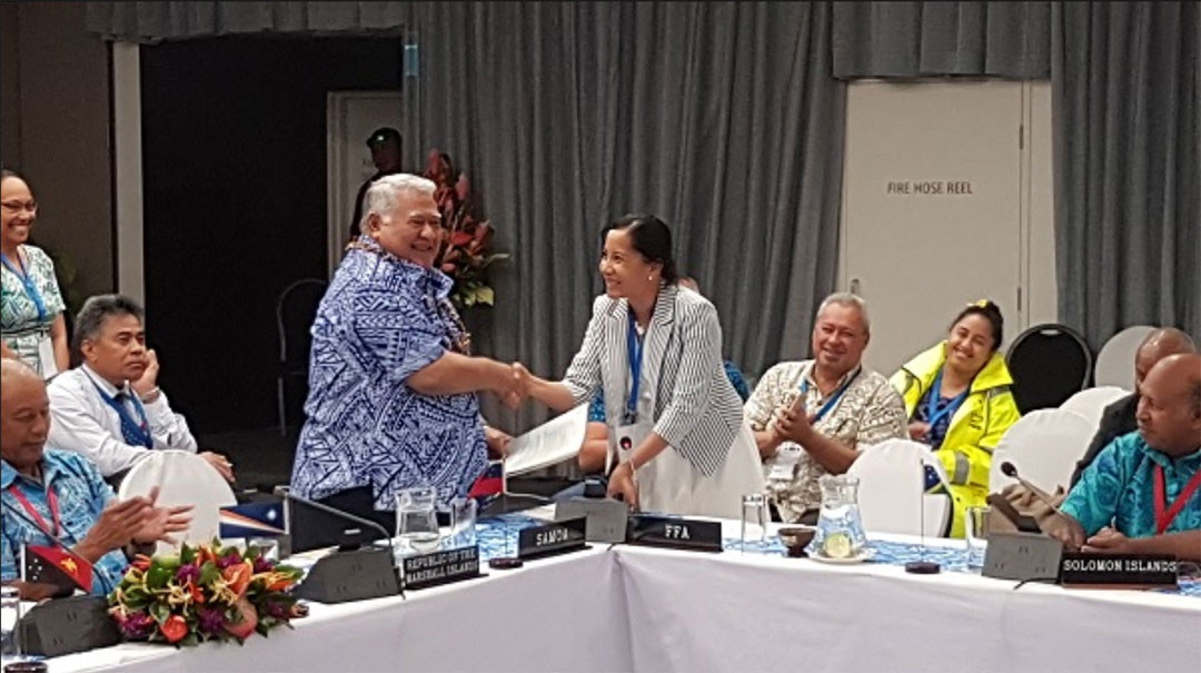 Pacific island partners fighting to protect fisheries