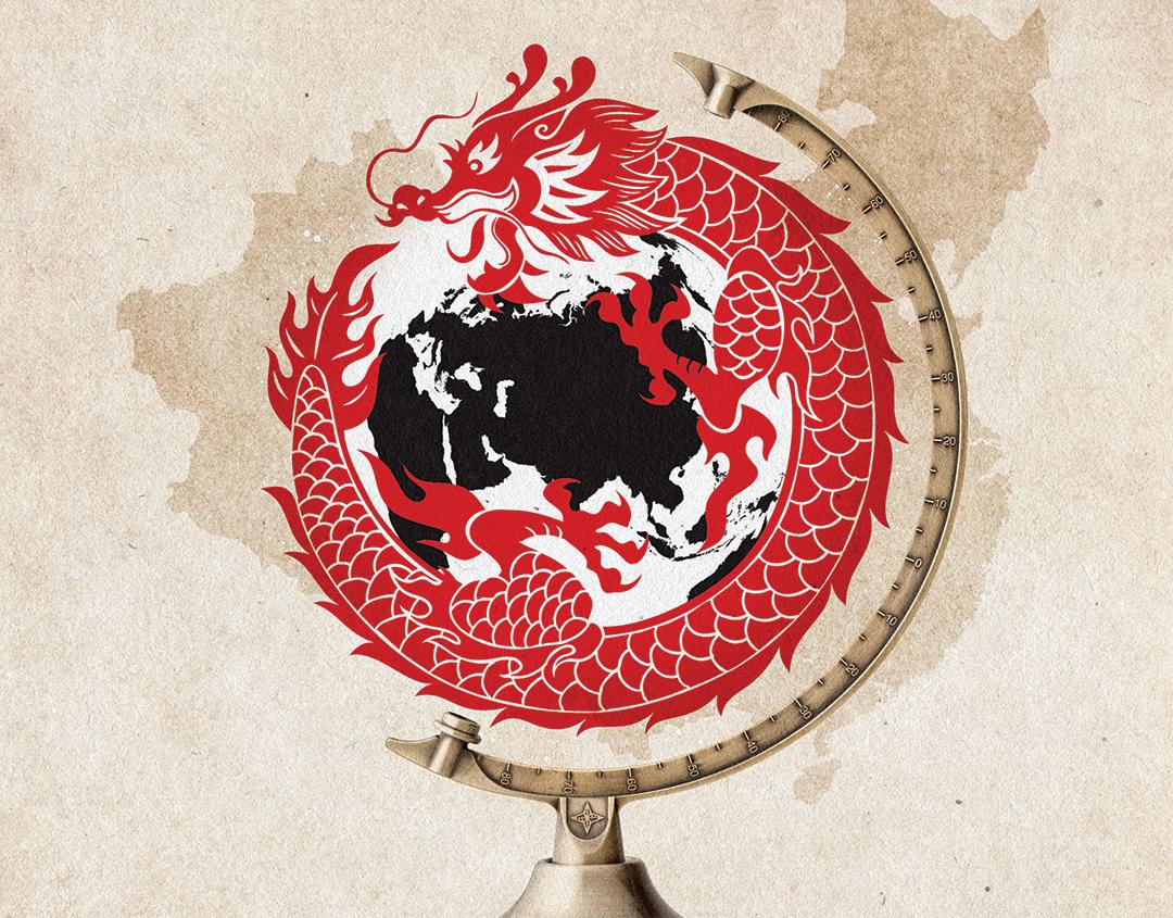 中共的全球  政治扩张