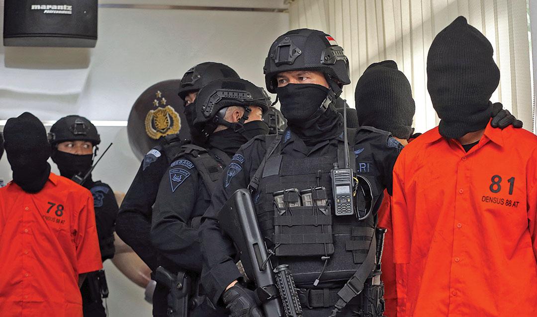 อินโดนีเซีย ยังคงเฝ้าระวัง เรื่อง การก่อการร้าย