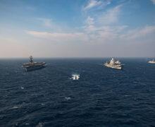 Quad navies finish second phase of Malabar in Arabian Sea