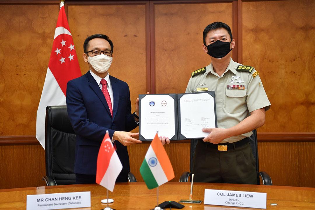 India dan Singapura berupaya mengekang efek bencana alam