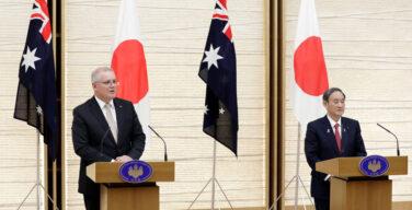 오스트레일리아와 일본, 중국에 대응하여 국방 관계 강화