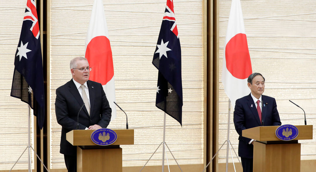 Australia, Japan to strengthen defense ties amid PRC's attempts at influence