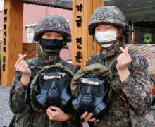 South Korea's CBRN forces engage in fight against COVID-19