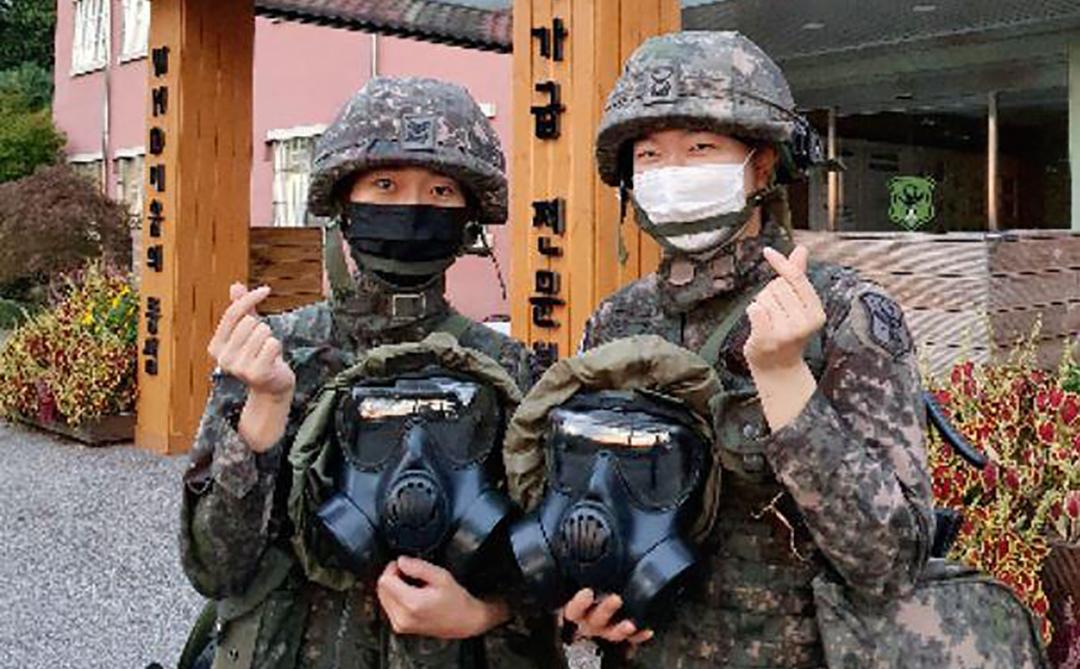 Pasukan CBRN Korea Selatan terlibat dalam perang melawan COVID-19