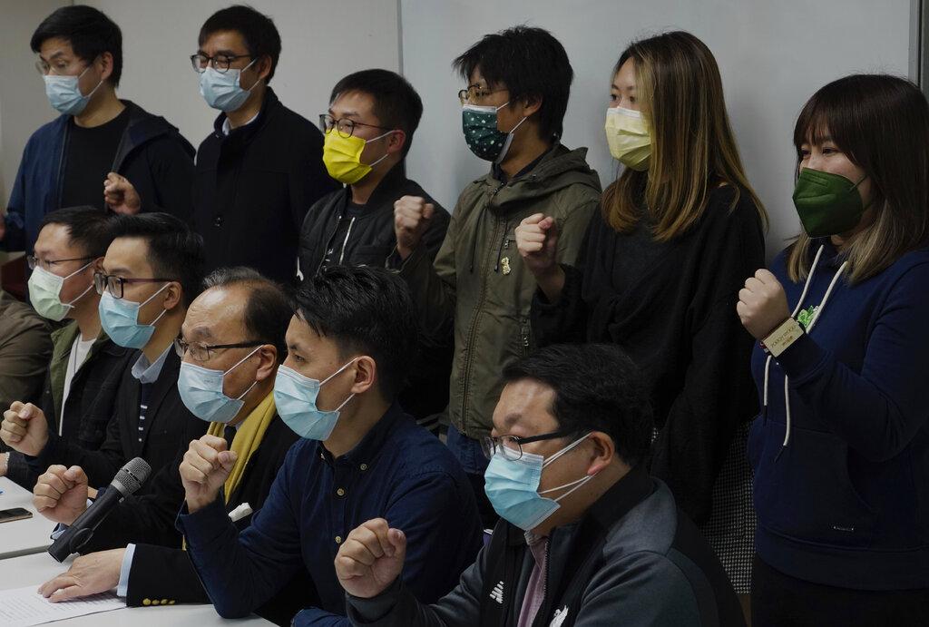 随着越来越多的港人受到逮捕,请求欧盟放弃与中国签署投资协议的呼声加大