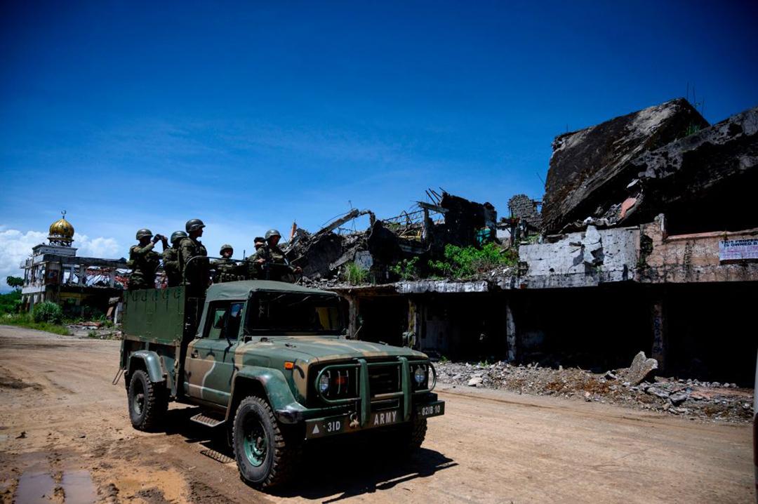 Philippines hợp tác với Hoa Kỳ để chống lại các mối đe dọa khủng bố