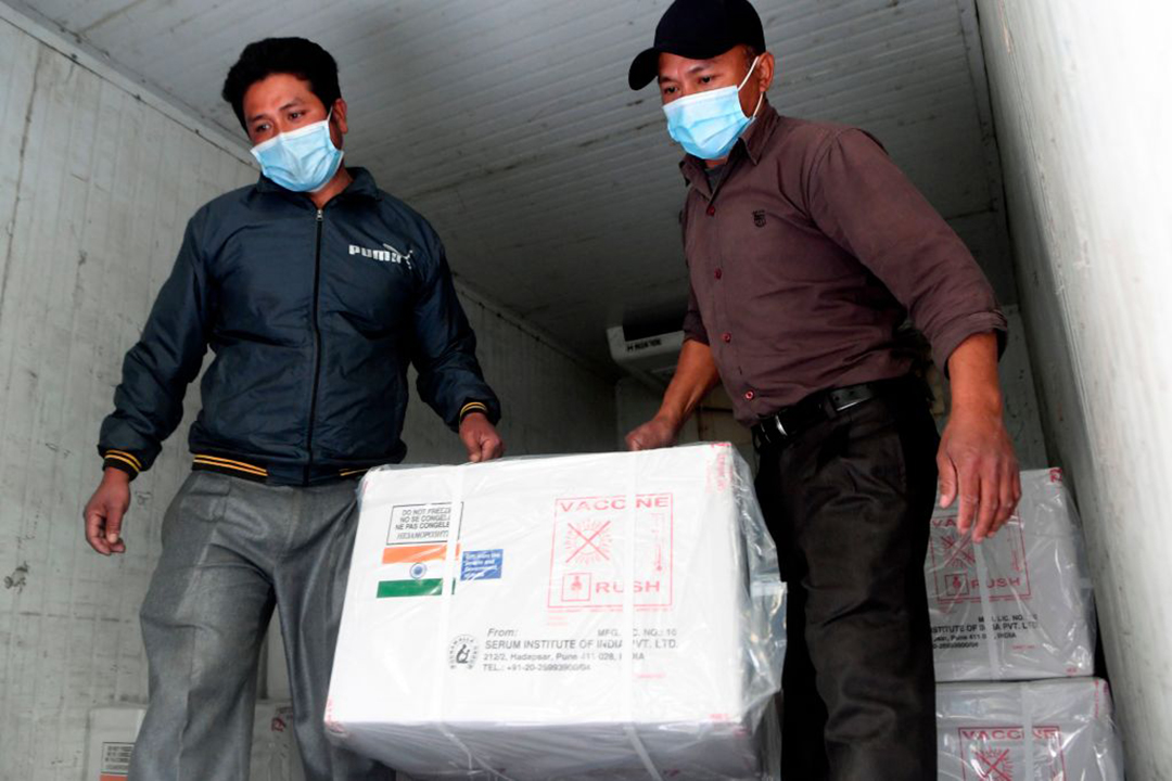 PRC takes shots at India's neighborhood vaccine diplomacy