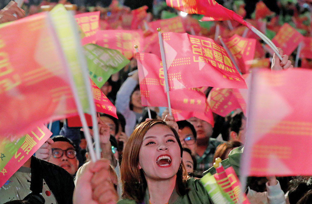 TAIWAN: Poll finds citizens identify as  non-Chinese