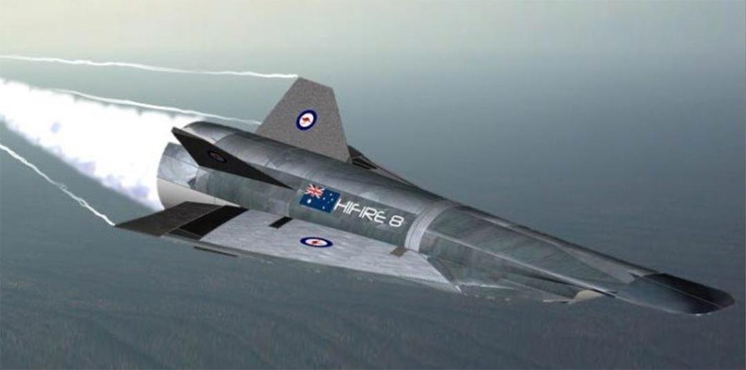 米豪が共同開発しているミサイルに類似した極超音速巡航ミサイルのイメージ図(クイーンズランド大学)