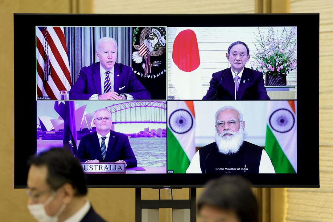 初の日米豪印首脳会談:インド太平洋の「新たな夜明け」