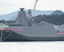 ミサイル防衛強化を目的として、護衛艦隊の近代化を図る日本