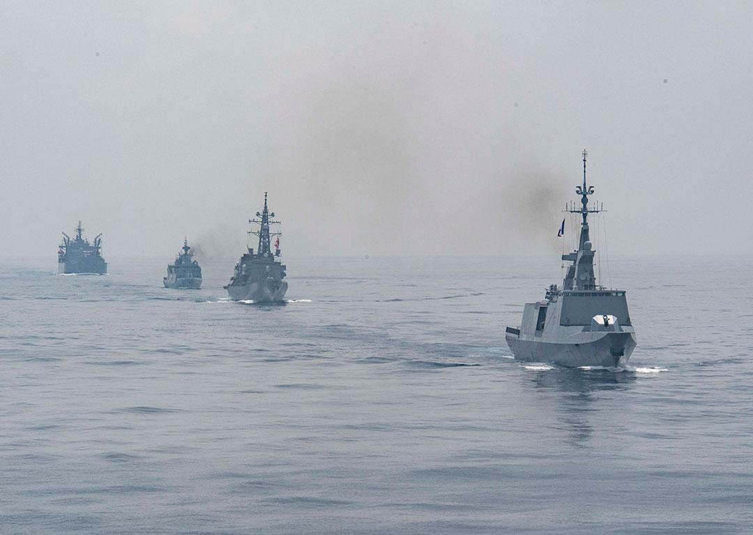 不安定化を招く中国の行動に対処するため、インド太平洋地域同盟諸国が提携体制を強化(ヒース・ザイグラー(HEATH ZEIGLER)三等兵曹/米国海軍)