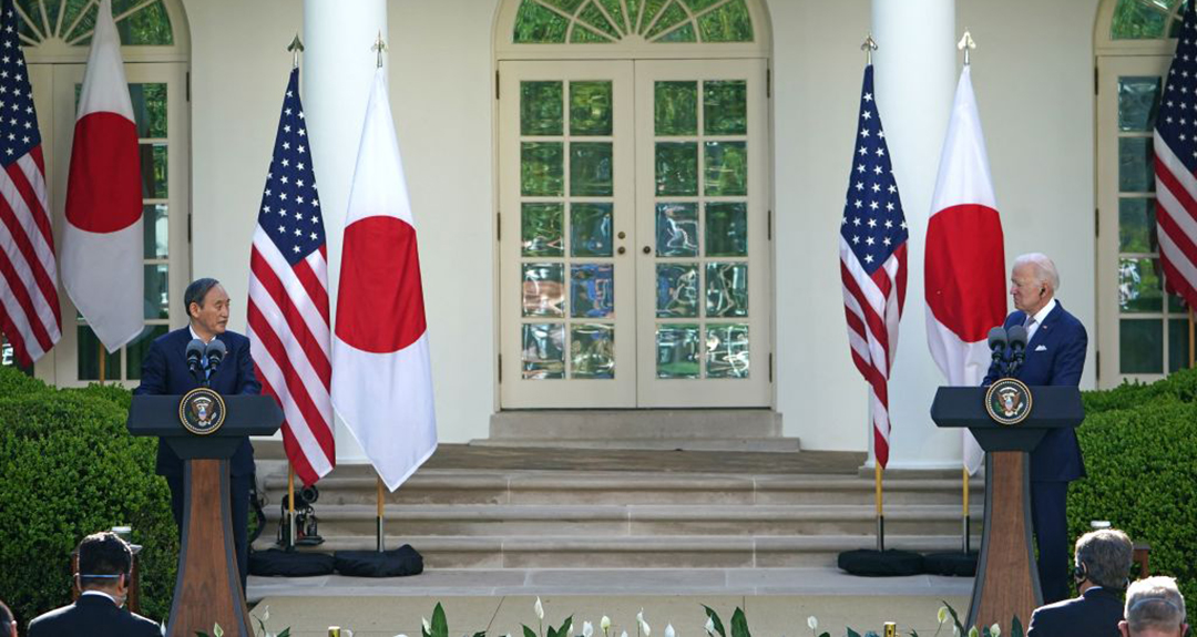 U.S.-Japan summit highlights resolve of 'steadfast alliances' in securing Free and Open Indo-Pacific