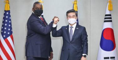 Korea Selatan dan A.S. memperkuat aliansi dengan pakta pembagian biaya