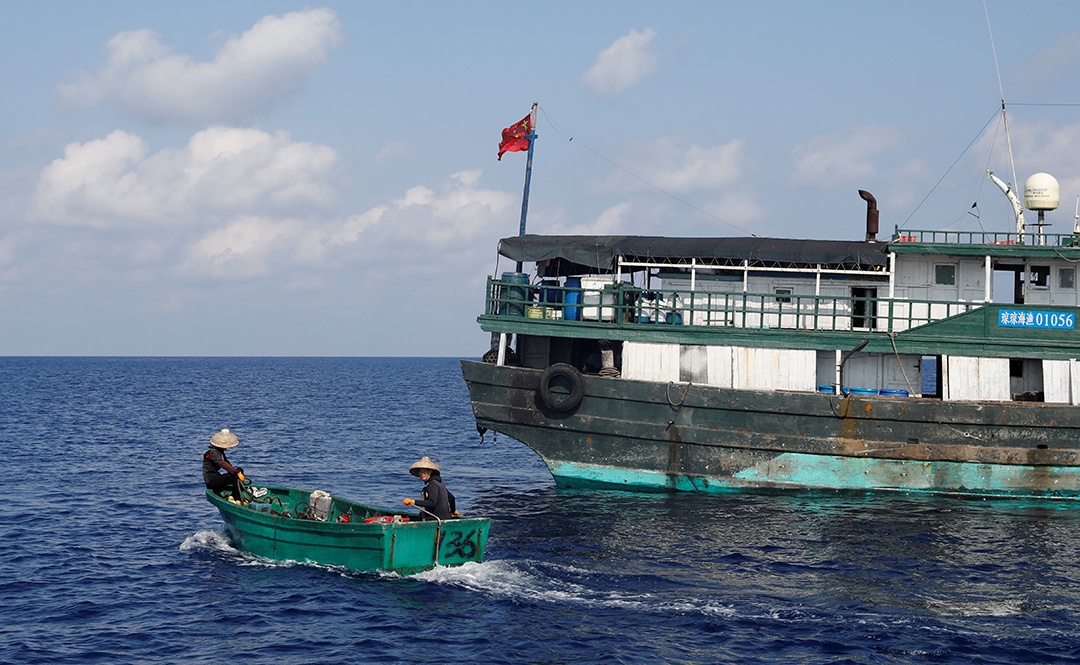 Đánh bắt cá IUU của Trung Quốc đe dọa không chỉ sinh kế và sự ổn định kinh tế.